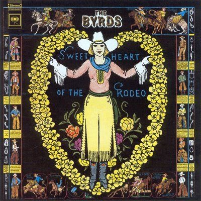 Pochette album des Byrds: Sweetheart of the rodeo