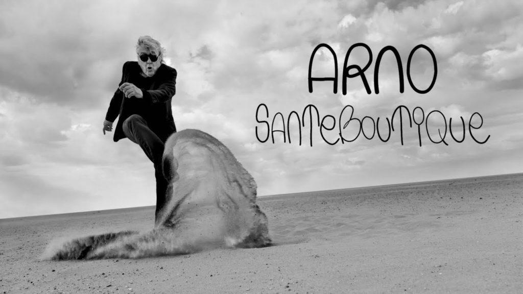 Pochette album d'Arno: Santeboutique