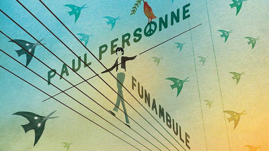 Pochette album de Paul Personne: Funambule